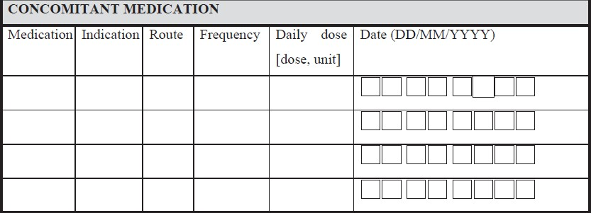 Journal Basics Of Case Report Form Designing In Clinical